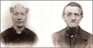 Roelof Koeling (1834-1913) & Aaffien Kremers (1844-1911) Foto: Albert Koeling